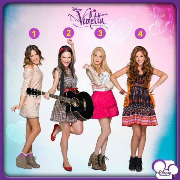 Violetta 2 Las Chicas
