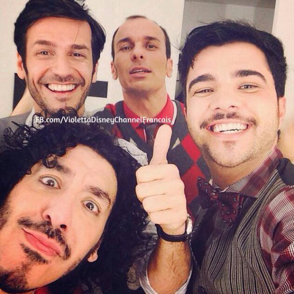 Violetta 3 : Esquivel Pablo et les 2 Rodrigo