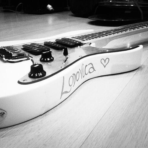 Guitare Électrique de Lodovica Comello