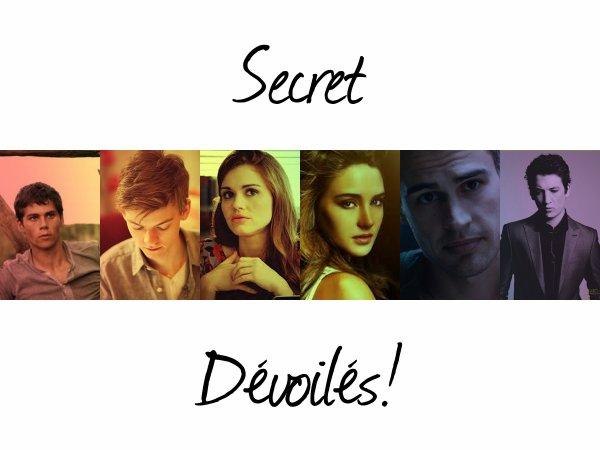 ~The Survivals -Chapitre7 : Secret Dévoilés.~