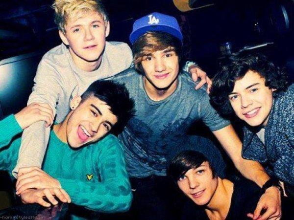 Comme tout mes pot(e)s je suis devenue accro au One Direction. ;)