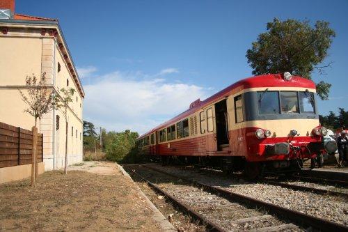 X4567 en gare de St Maximin