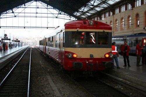 l'X4567 a Marseille st Charles