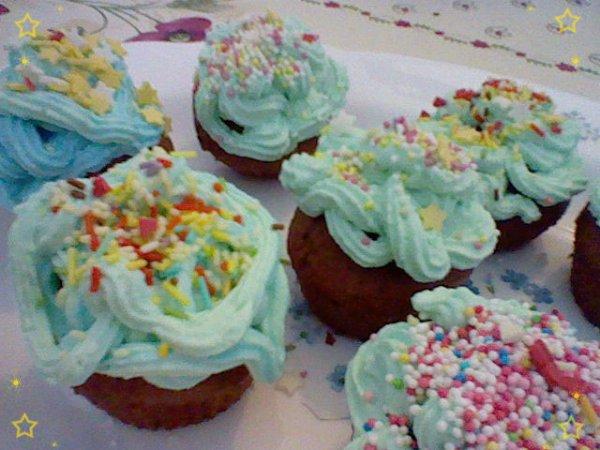 Miam, des cup-cakes maison !