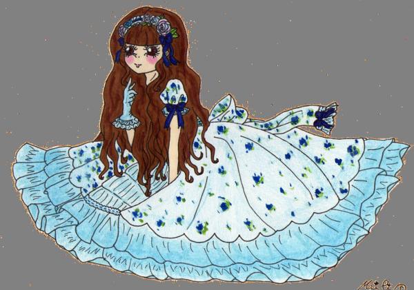 ♣ Fleur bleue... ♣