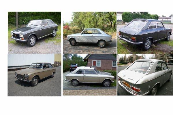 Comparatifs Esthétiques Peugeot 204-304