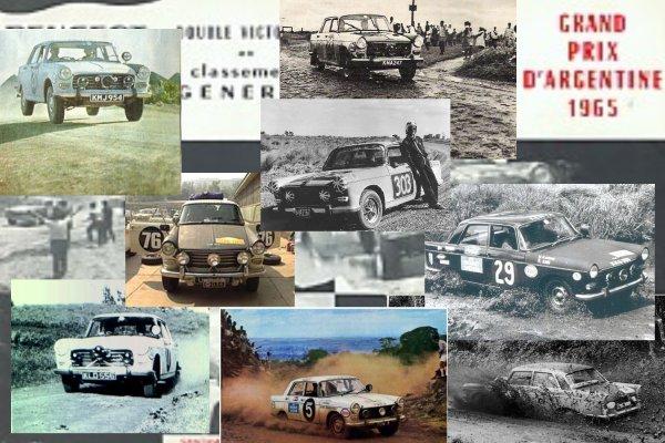 PEUGEOT 404 Rallye
