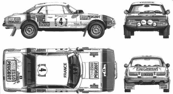 PEUGEOT 504 Rallye