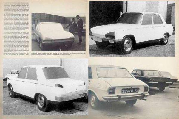 PEUGEOT 504 Les Prototypes !