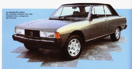 Peugeot 604 Cabriolet