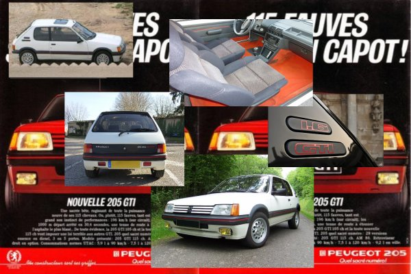 PEUGEOT 205 GTI 1.6l 115 CV