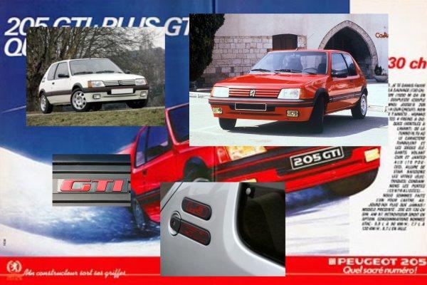 PEUGEOT 205 GTI 1.9l 130 CV