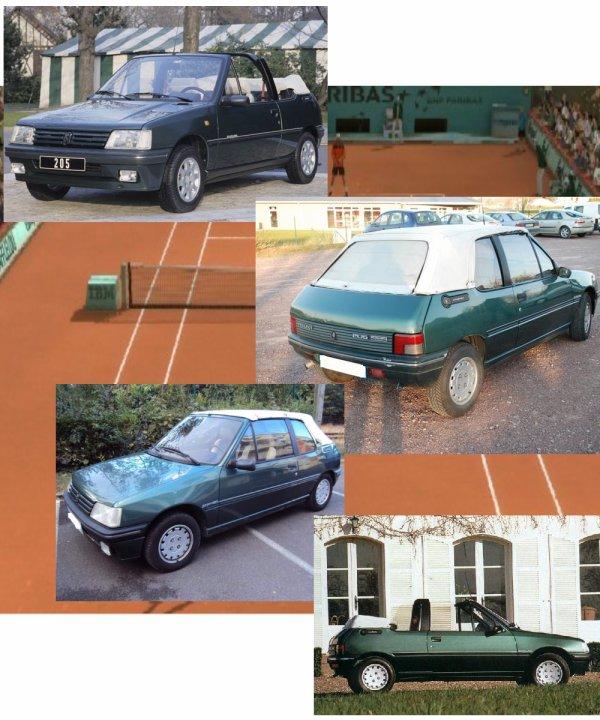 PEUGEOT 205 Roland Garros Cabriolet