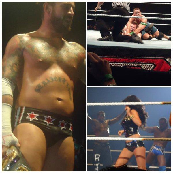 Raw Wrestlemania Revenge Tour Anvers !!