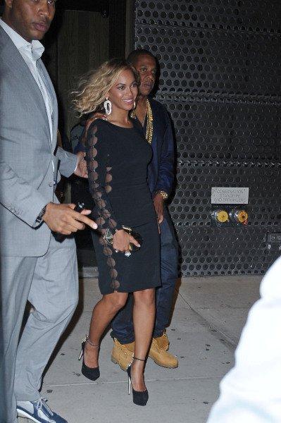 Beyoncé sobre et Classe à la soirée à l'after des Mtv Music Award
