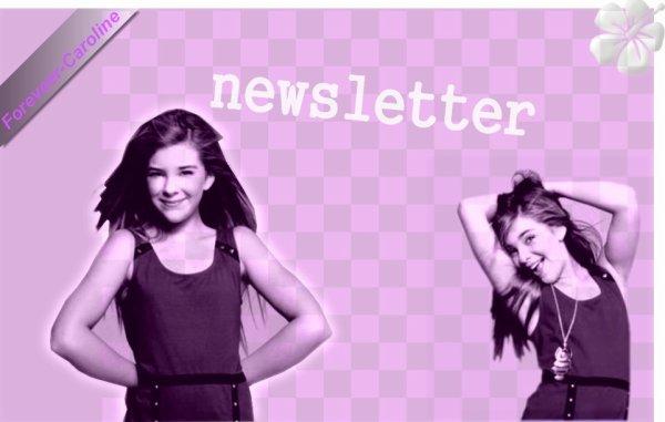 Newsletter :) !