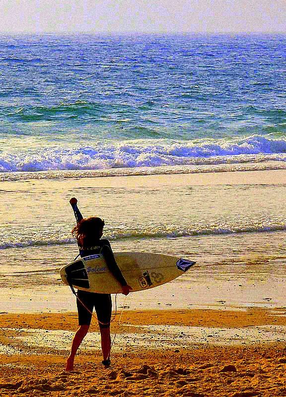 Surfer c'est la liberté