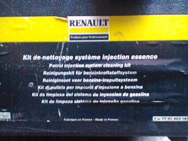 kit de nettoyage injection pour renault   .