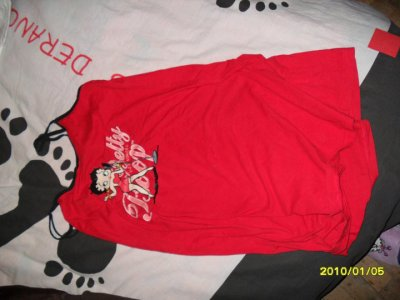 chemise de nui betty boop t 38-40