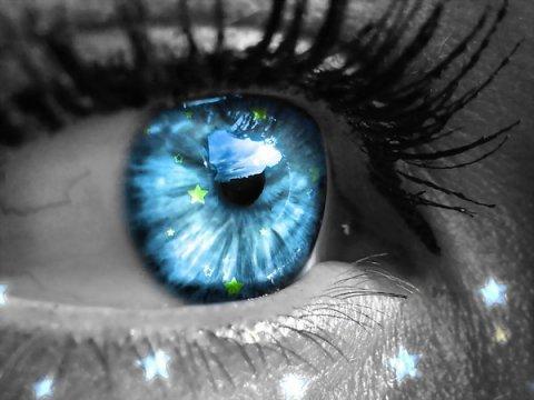 Des étoiles pleins les yeux ...
