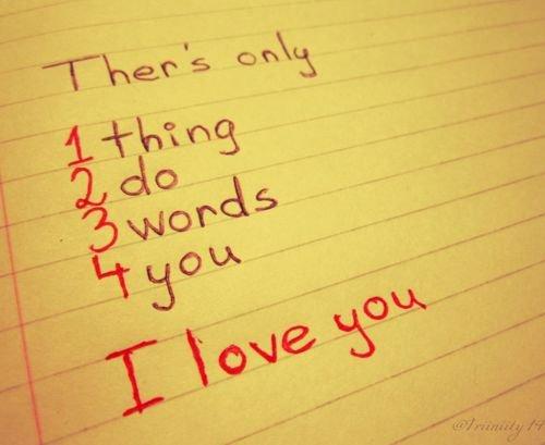 Les mots...