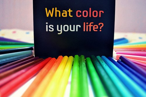Color your life !!!