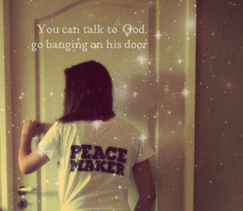Ooooopen the door !