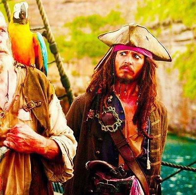 Que cette journée reste à jamais celle où vous avez failli capturer le capitaine Jack Sparrow