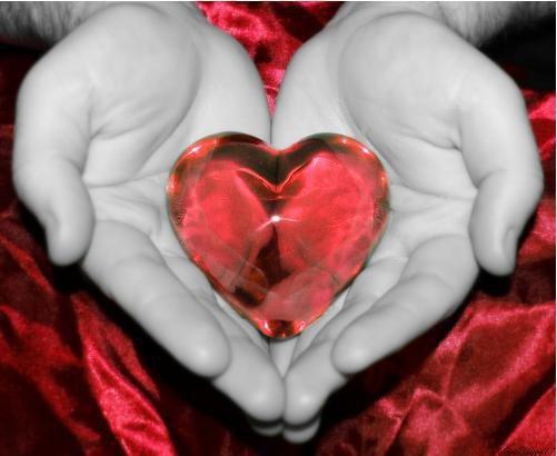 Je vous donne mon coeur mon amour