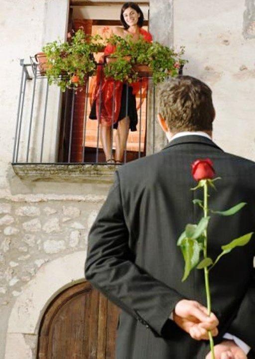 Donnez-vous la fleur de l'amour du fond de mon coeur