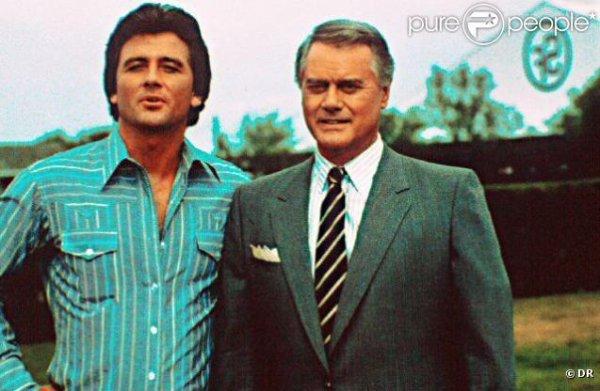 J.R. & Bobby dans la première version de Dallas...