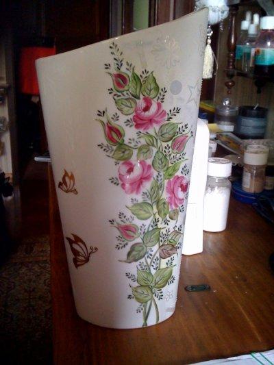 Formation aux roses classiques avec une supère prof. ici roses avec fond irisé et blanc mat