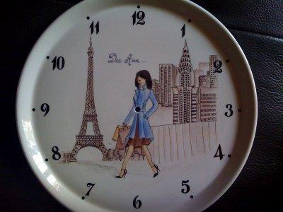 pendule pour mon amie américaine fan de shopping entre Paris et NY city