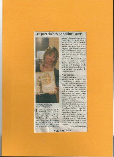 exposition à Romorantin (Loir et Cher)