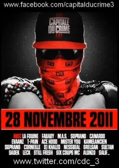 Capitale du Crime 3 / 08 - LA FOUINE feat. LECK, SIX COUPS MC & FABABY - Jalousie (2011)