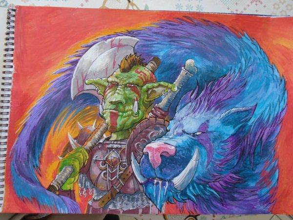 Tradi art orc