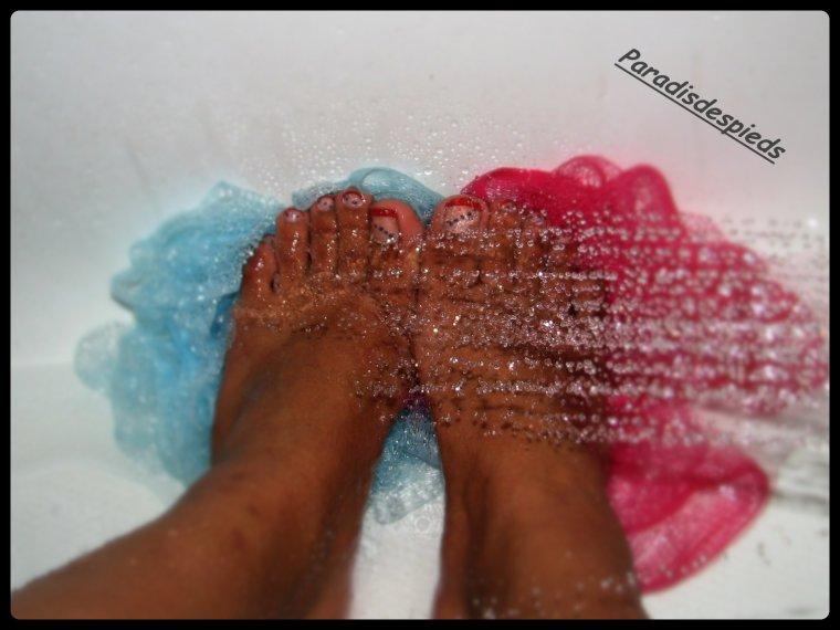 Spécial bain de pieds