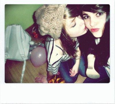 Parce qu'une meilleure amie ne nous quitte jamais...