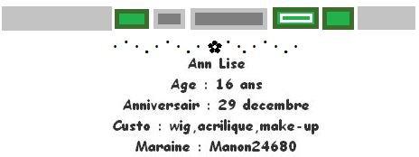 Ann Lise.