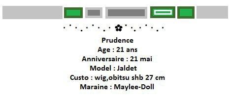 Prudence.