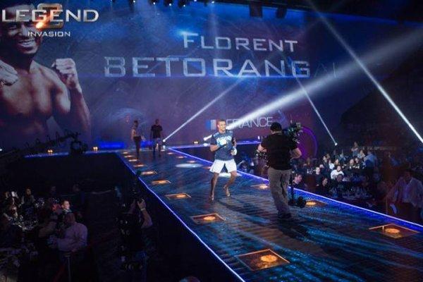 Florent Betorangal au Legend 2 à Moscou