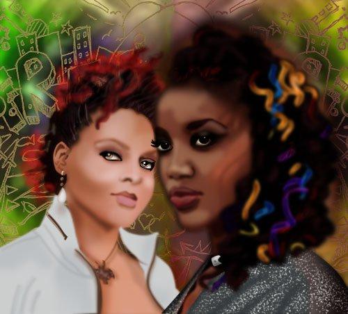 Dessin Femme Noire Blog De Lylah4life