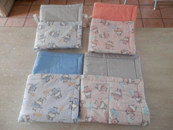 4 couvertures pour bébé