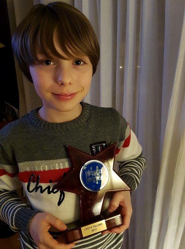 "William gagne le concours  ""Talents LRDTV""  2017"