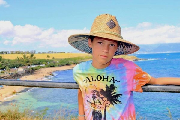 """""""Aloha"""" bonjour de Hayden en Hawaïen) :)"""