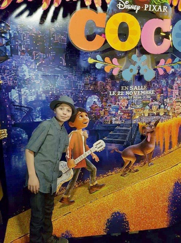 """♫  William est la voix chantée du new film de Disney """"CoCo"""" ♫"""