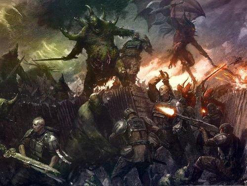 """Campagne : la guerre de Terxus Prime, tour 1 : """"La purge des montagnes de l'Eurèbre""""."""