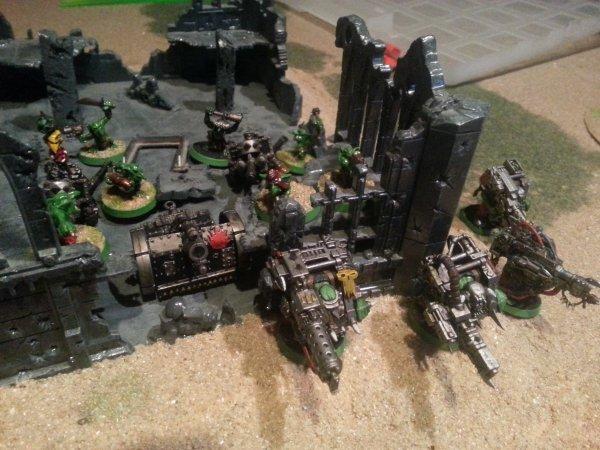 Campagne : la guerre de Terxus Prime, tour 2 : Le siège de la ligne Volsung.