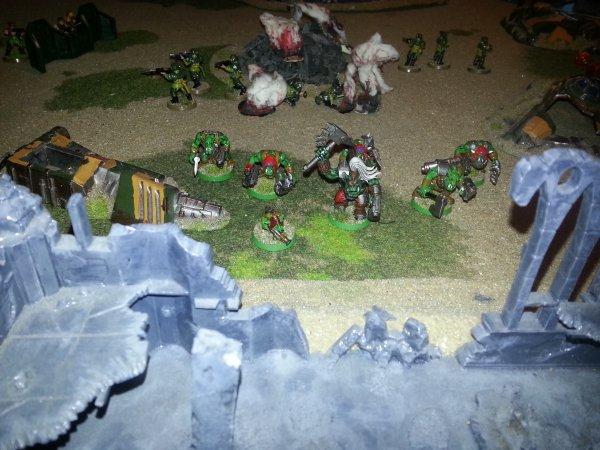 Campagne : La guerre de Terxus Prime, tour 3 : La chute du spatioport d'Anton.