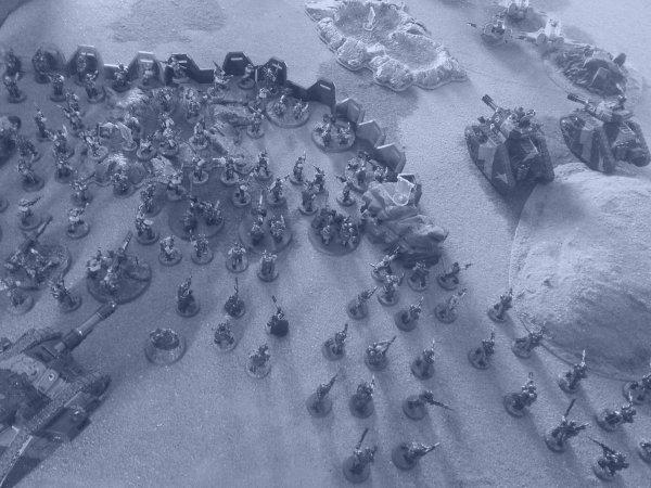 Campagne : La guerre de Terxus Prime, tour 3 : L'expédition des glaces